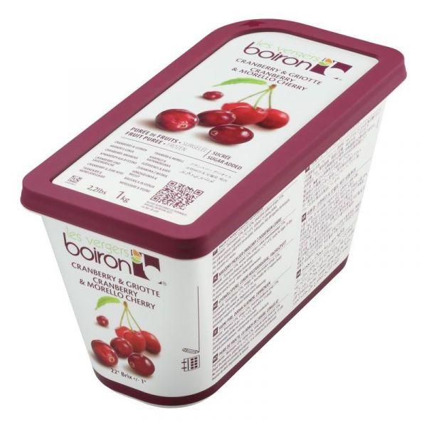 Frozen Cranberry & Cherry Puree