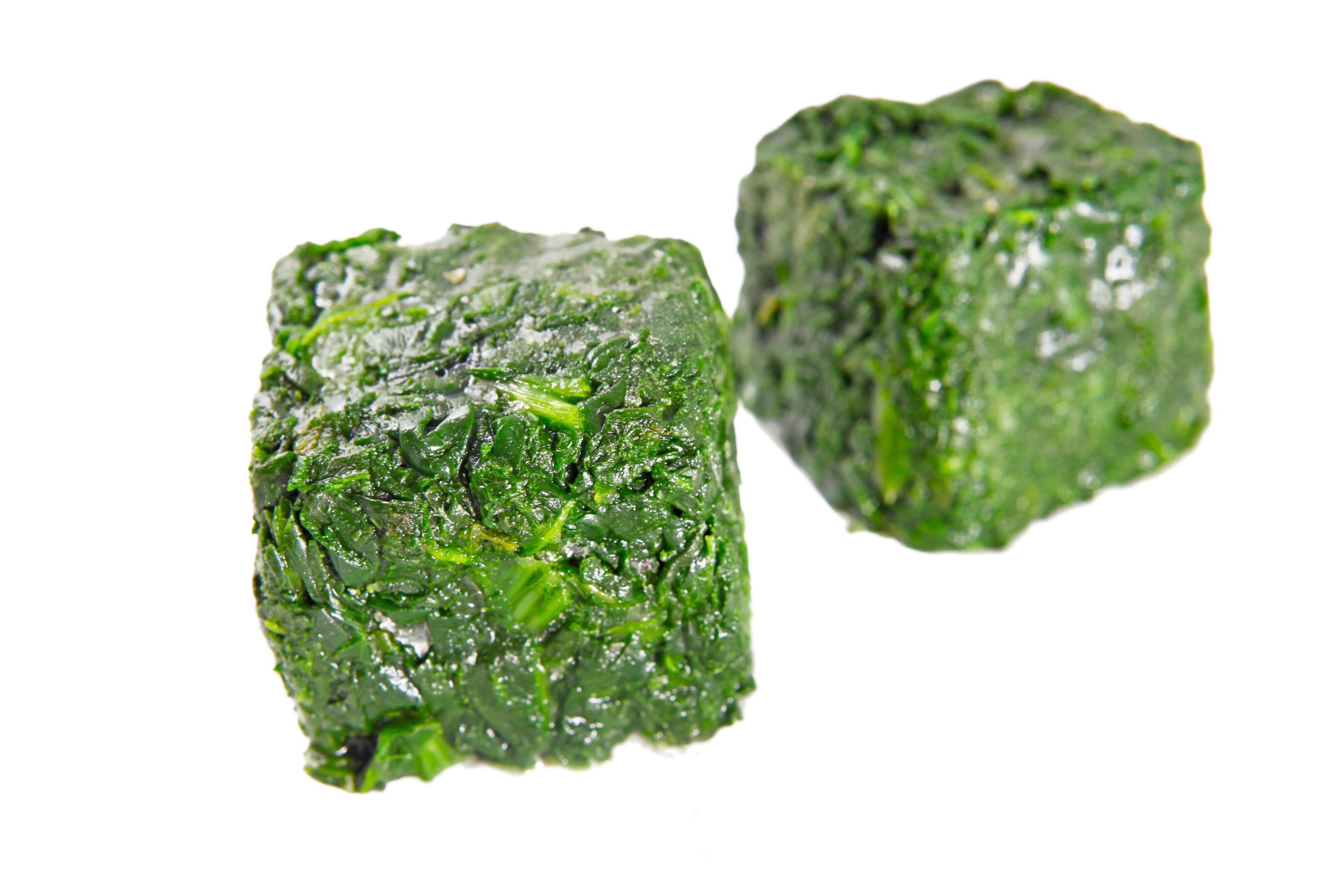 Frozen Spinach Leaf Block
