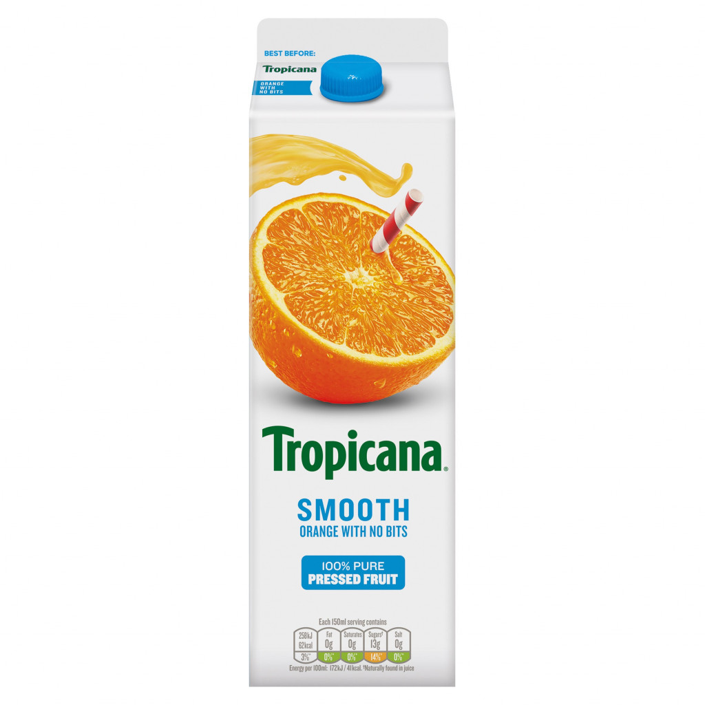 Tropicana Orange Juice - Smooth