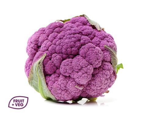 Purple Cauliflowers
