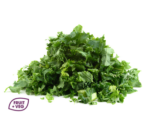 Prepared Shredded Curly Kale
