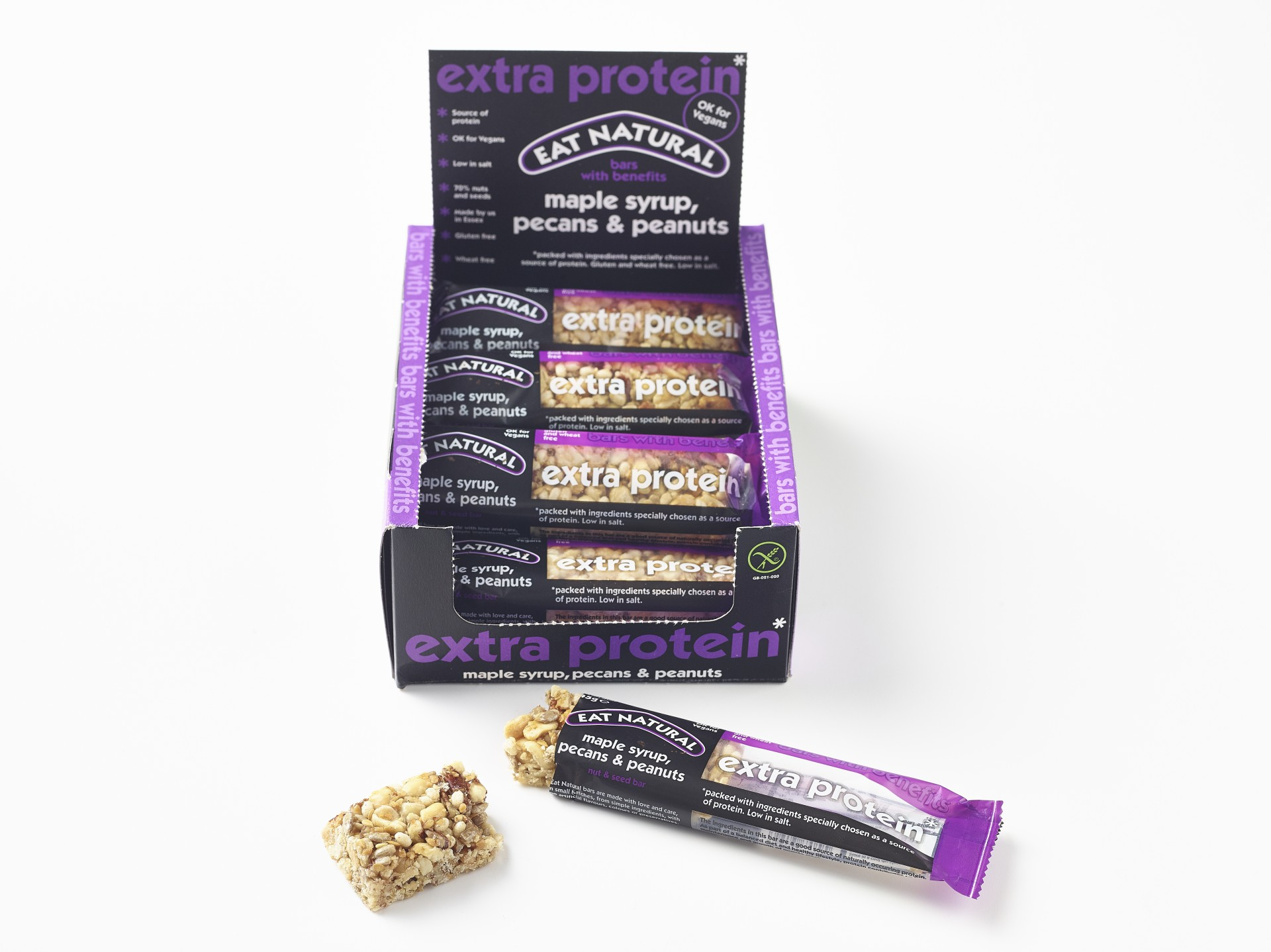 Eat Natural Maple Peanut High Protein