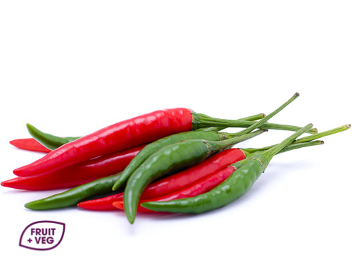 Mixed Red & Green Chilli