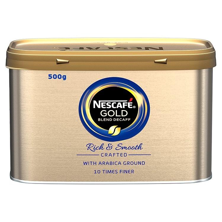 Nescafè Gold Blend Decaffeinated Coffee Granules