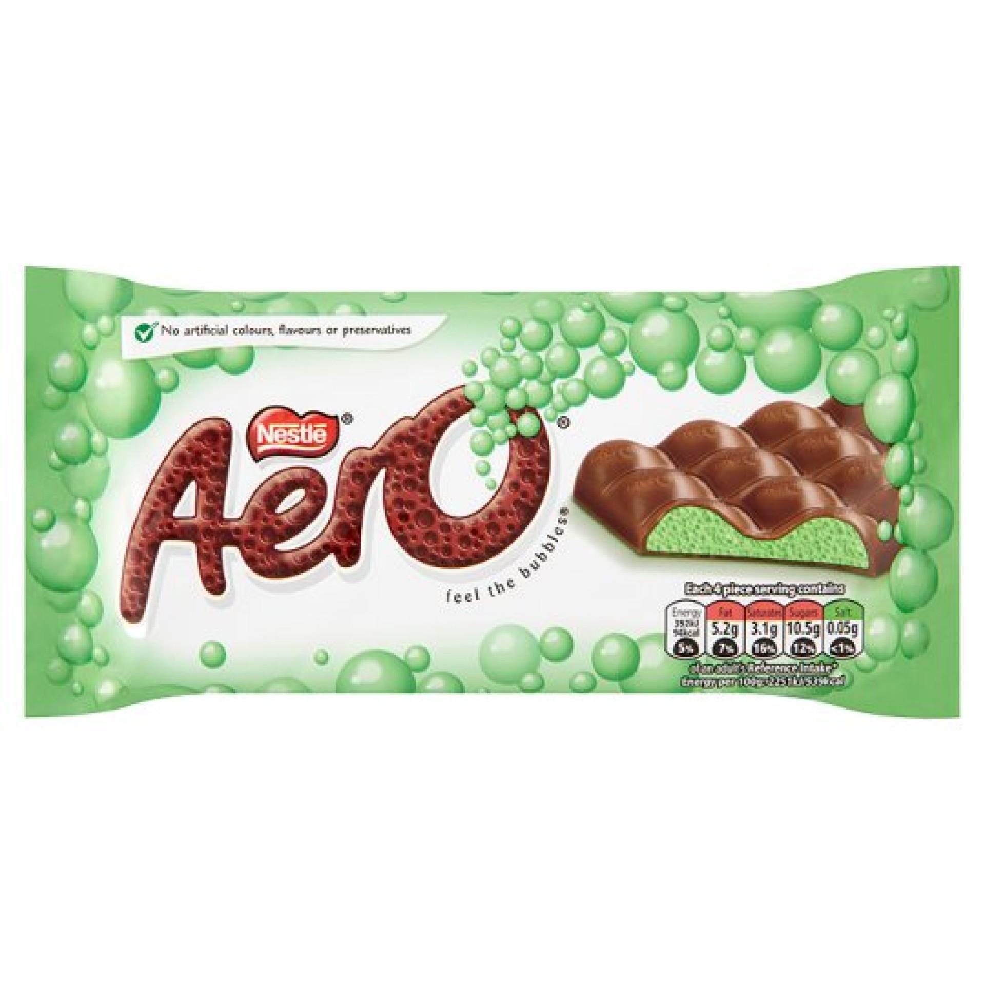 Aero Peppermint Bubbles Bar