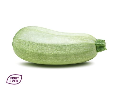 White Courgettes