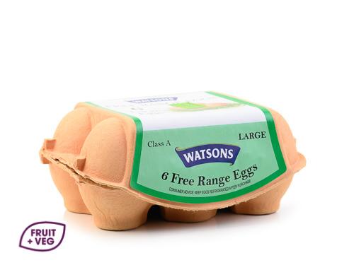 Free Range Eggs Half Dozen