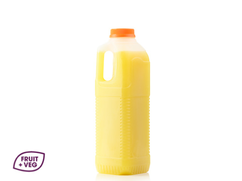 Fresh Cloudy Apple Juice