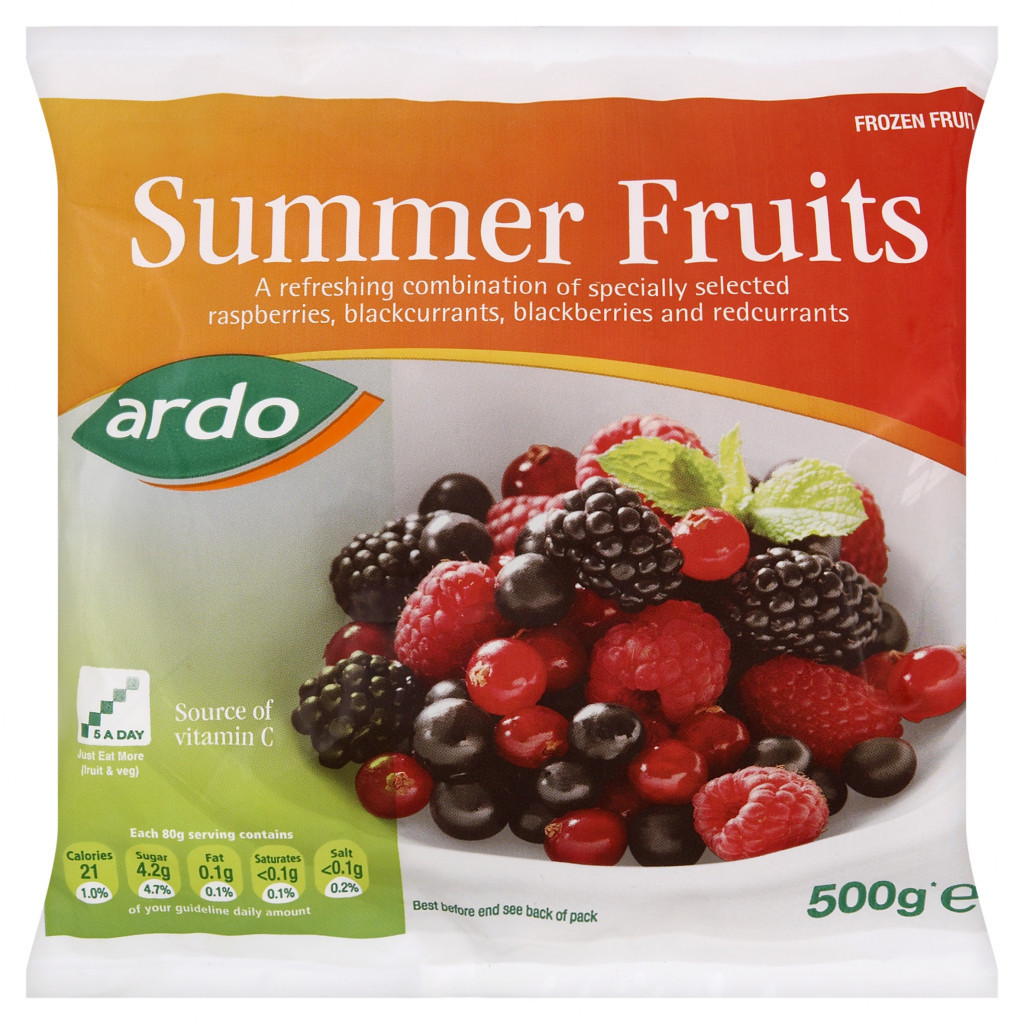 Frozen Summer Fruit