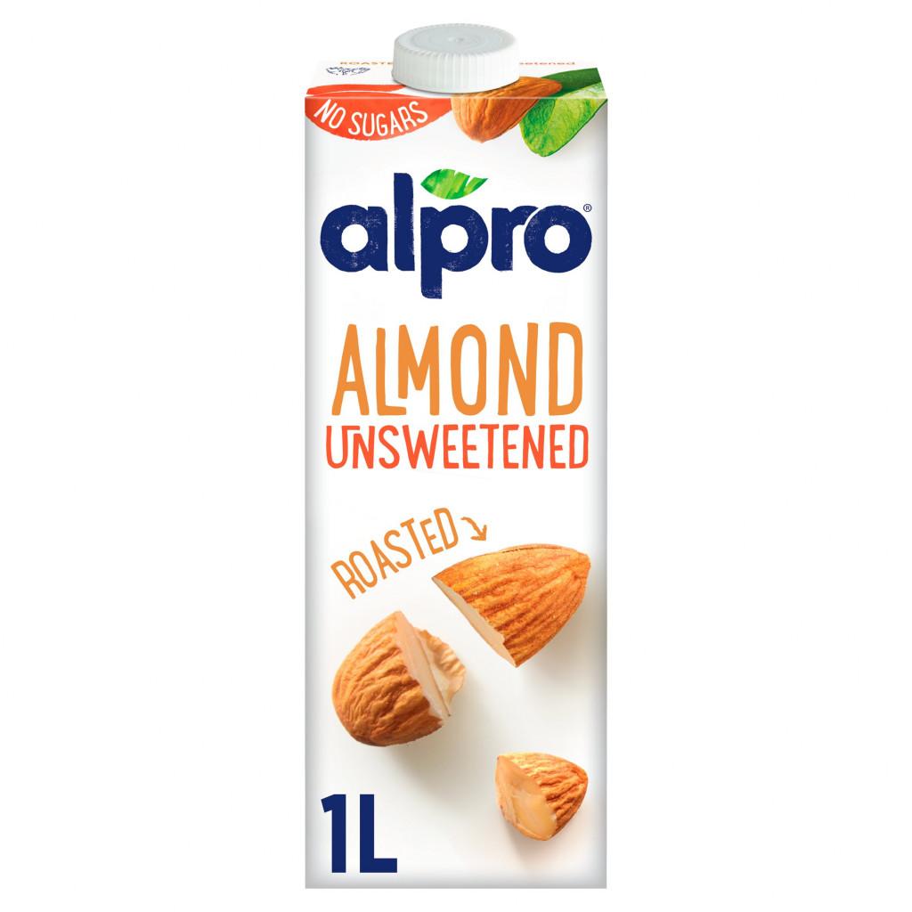 Alpro Organic Almond Milk Unsweetened