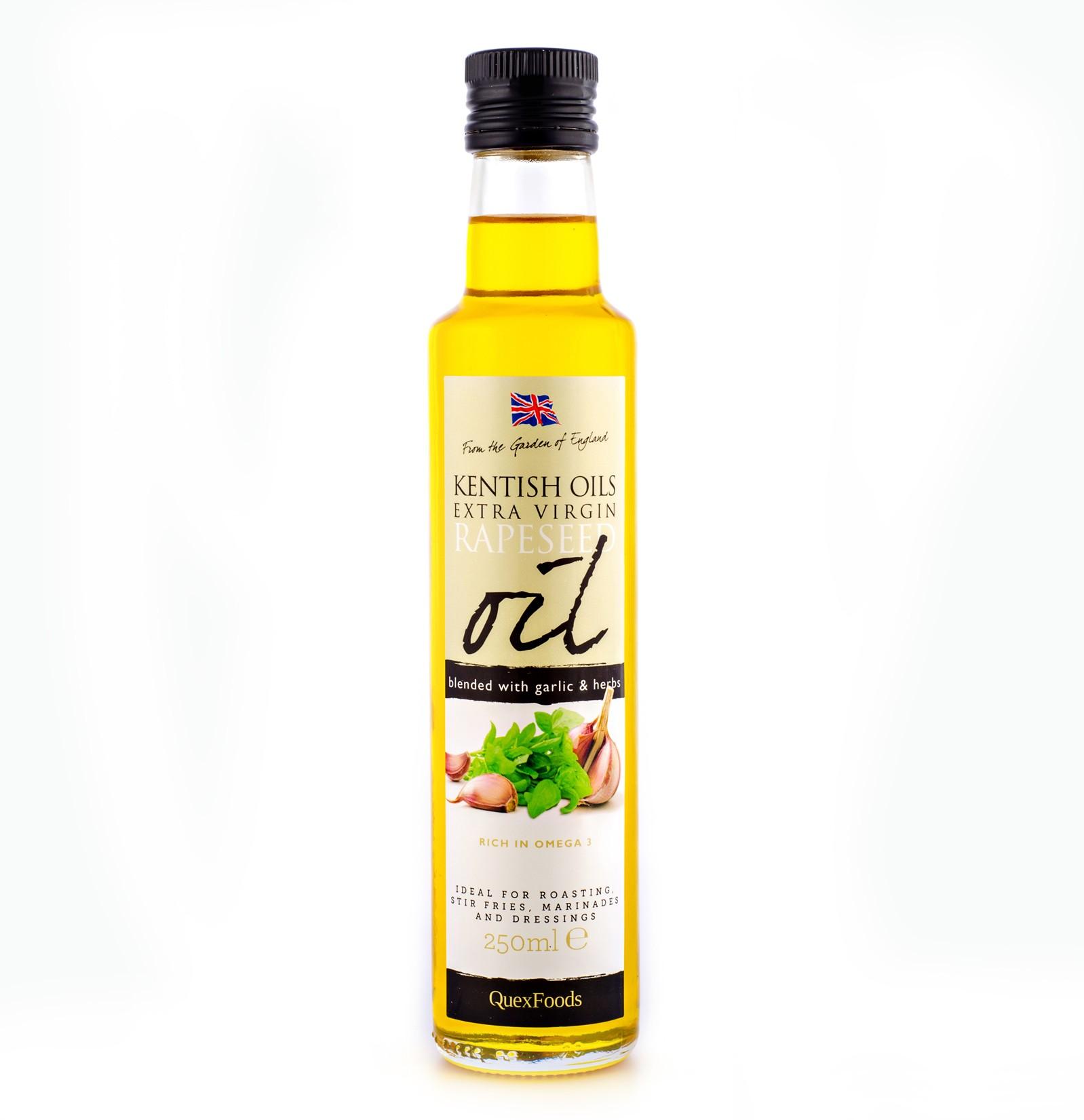 Garlic & Herb Infused Rapeseed Oil