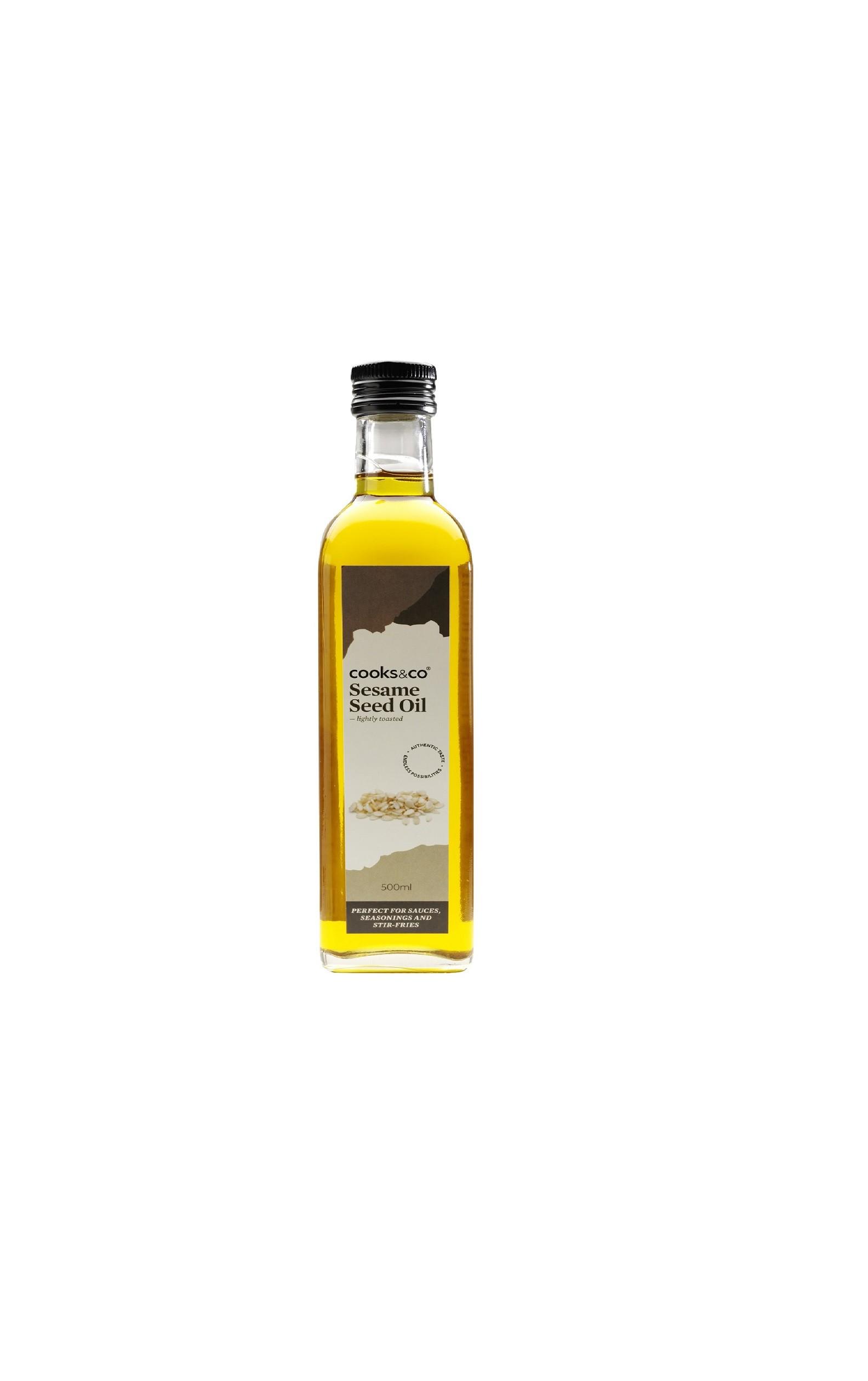Virgin Sesame Oil (Glass)