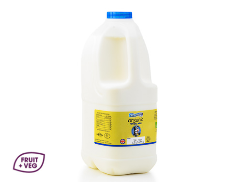 Organic Pasteurised Polybottle 2ltr