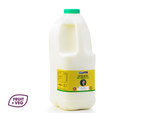 Organic Semi- Skimmed Polybottle 2ltr