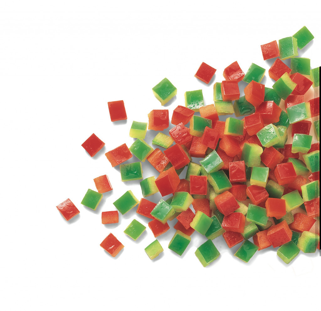 Frozen Diced Peppers (Mixed Red & Green)