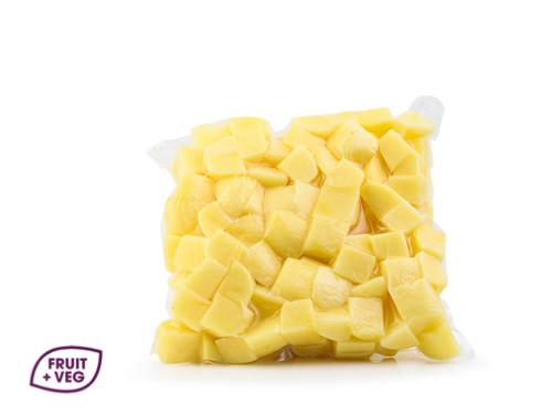 Prepared Diced Potato 20mm