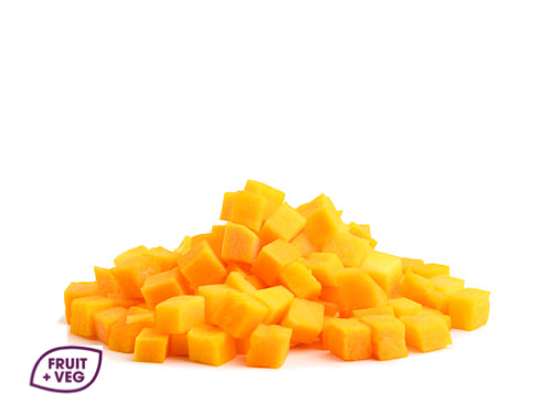 Prepared Butternut Squash Diced