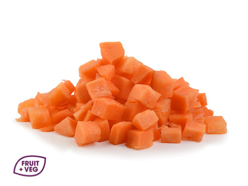 Prepared Carrot Diced