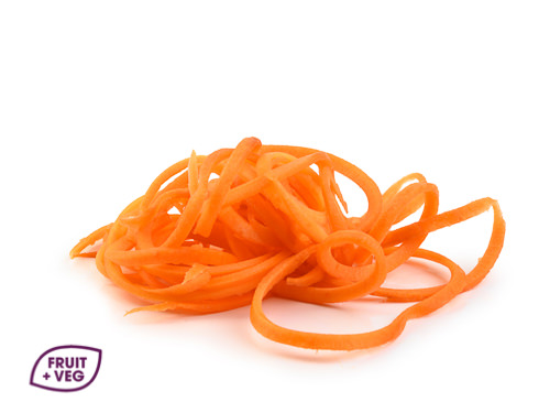 Prepared Carrot Spaghetti / Shoestring