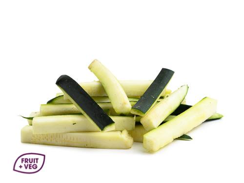 Prepared Courgette Baton