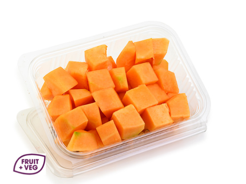 Diced Orange Melon
