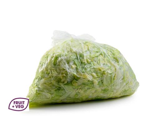 Prepared Shredded Iceberg Lettuce