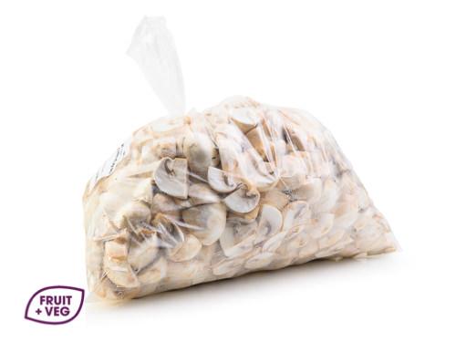 Prepared Mushrooms 1/4 Button