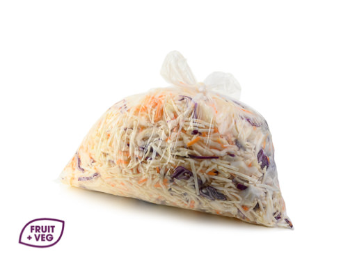 Prepared Coleslaw Mix (Red & White Cabbage)