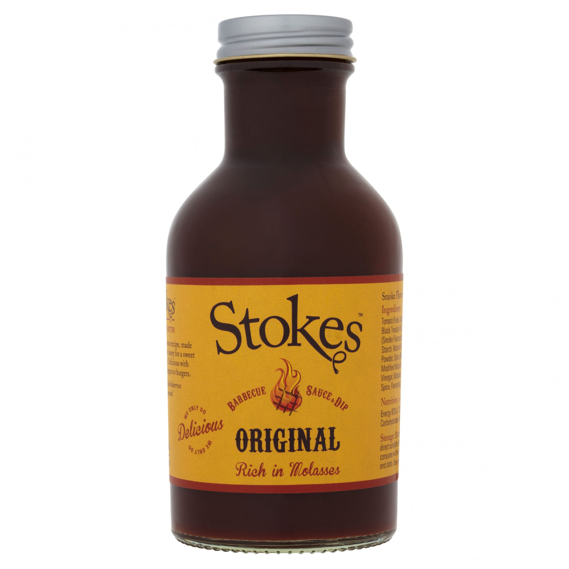 STOKES Original BBQ Sauce (Glass)