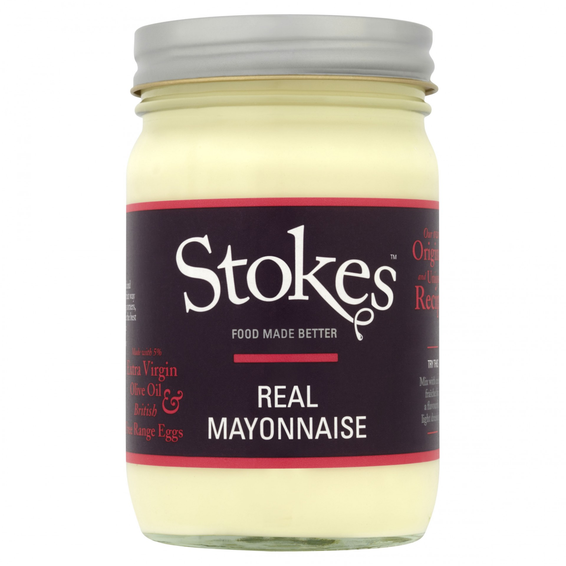 STOKES Real Mayonnaise (Glass)