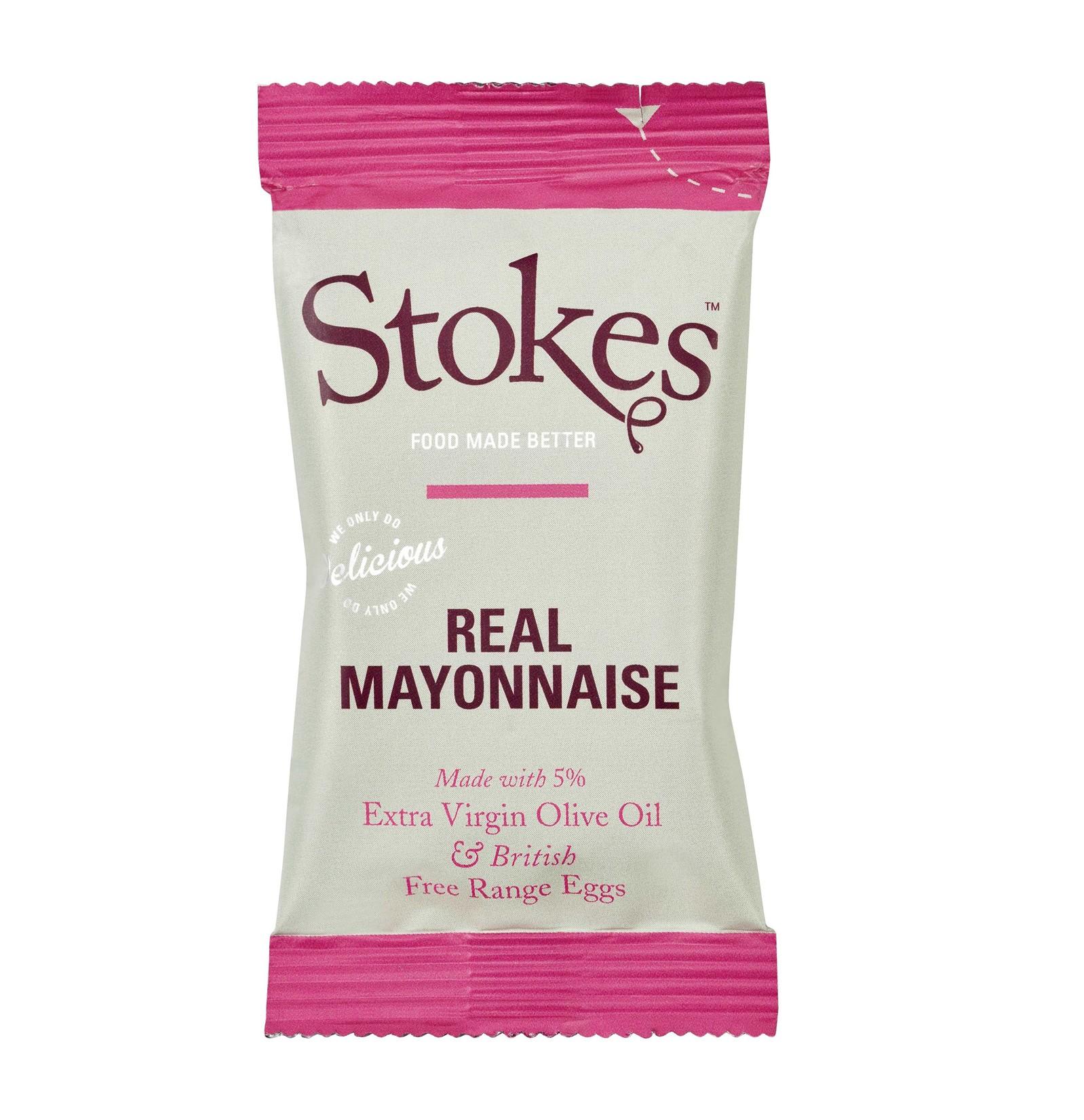 STOKES Real Mayonnaise (Sachets)