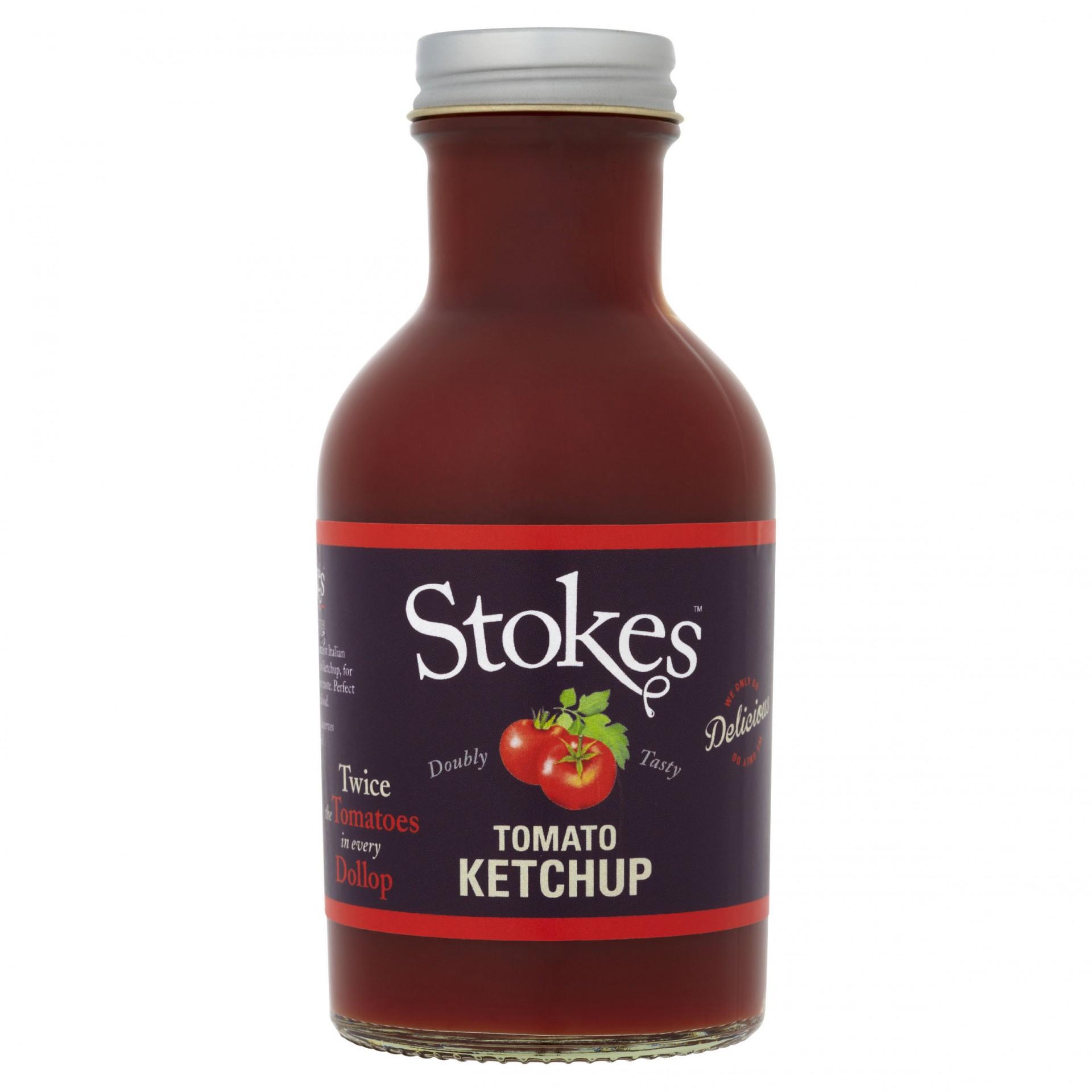STOKES Tomato Ketchup (Glass)