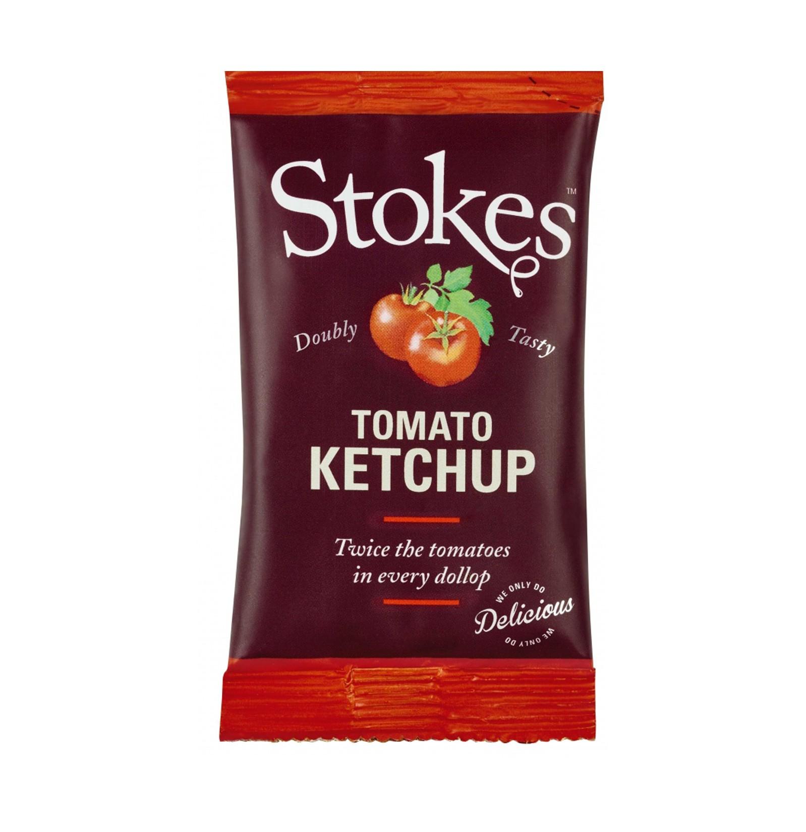STOKES Tomato Ketchup (Sachets)