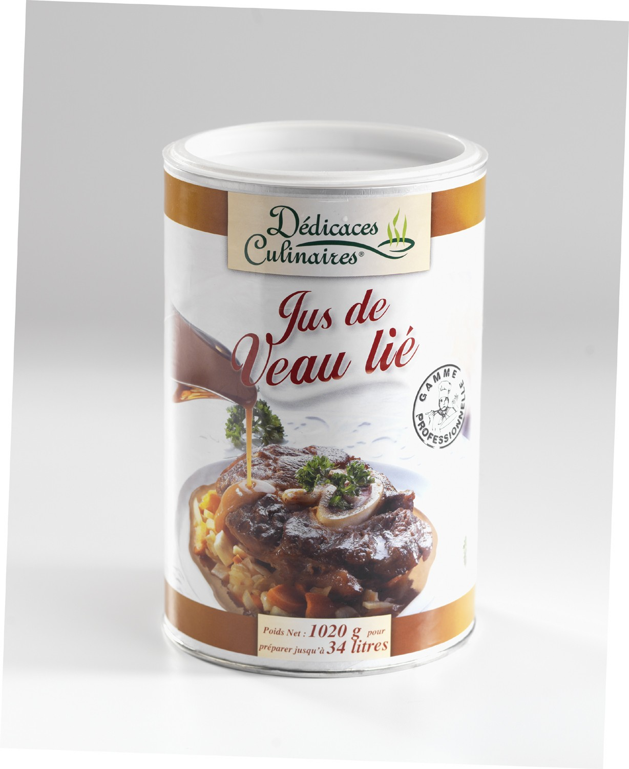 Jus De Veau Lie (Thickened Veal Stock)