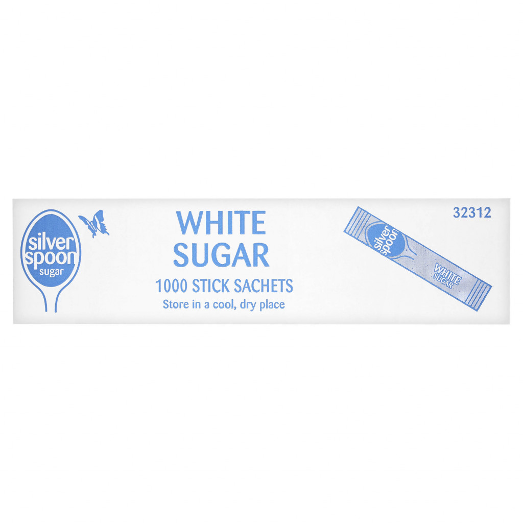 Silver Spoon White Sugar Sachets