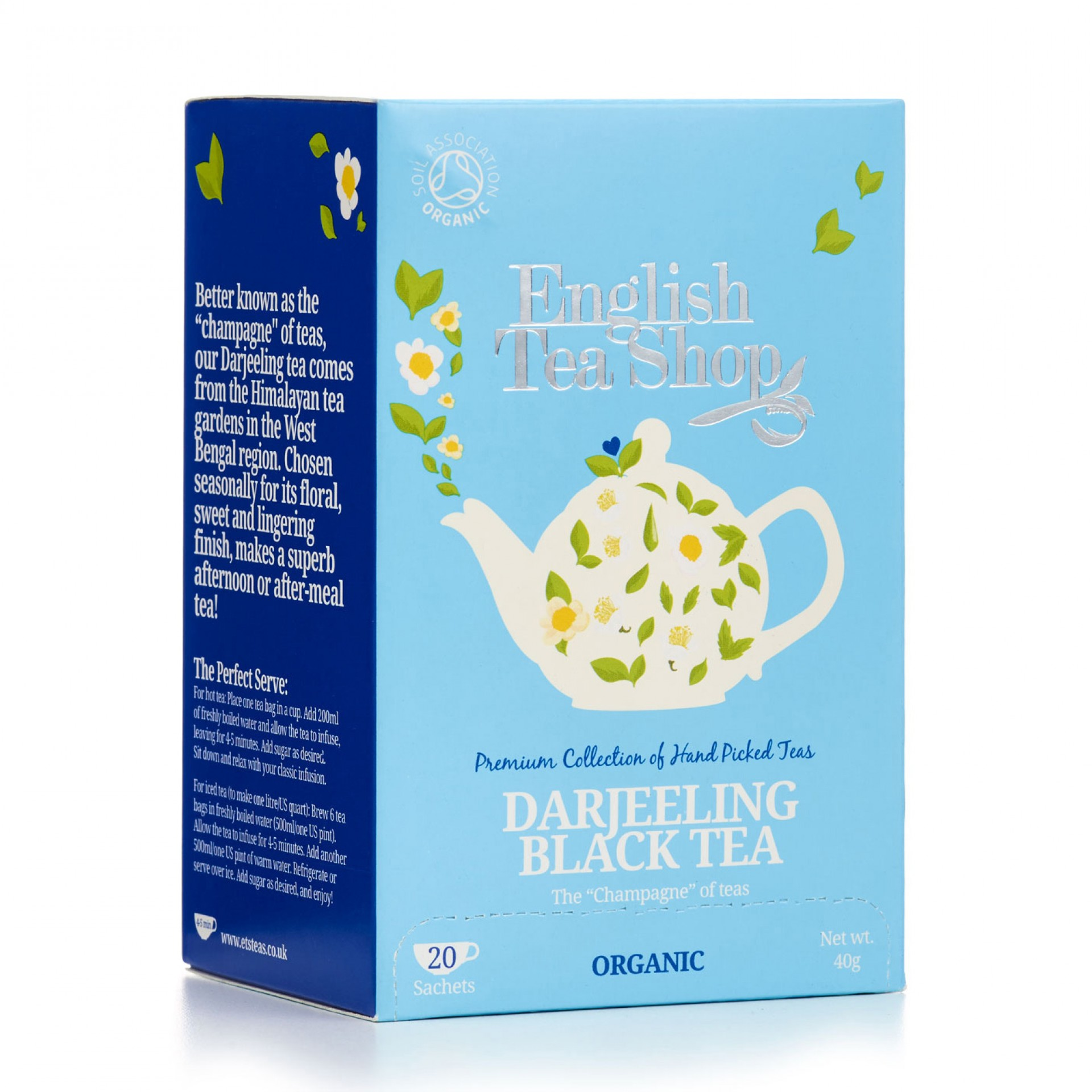 English Tea Shop - Darjeeling Envelope Tea Bags