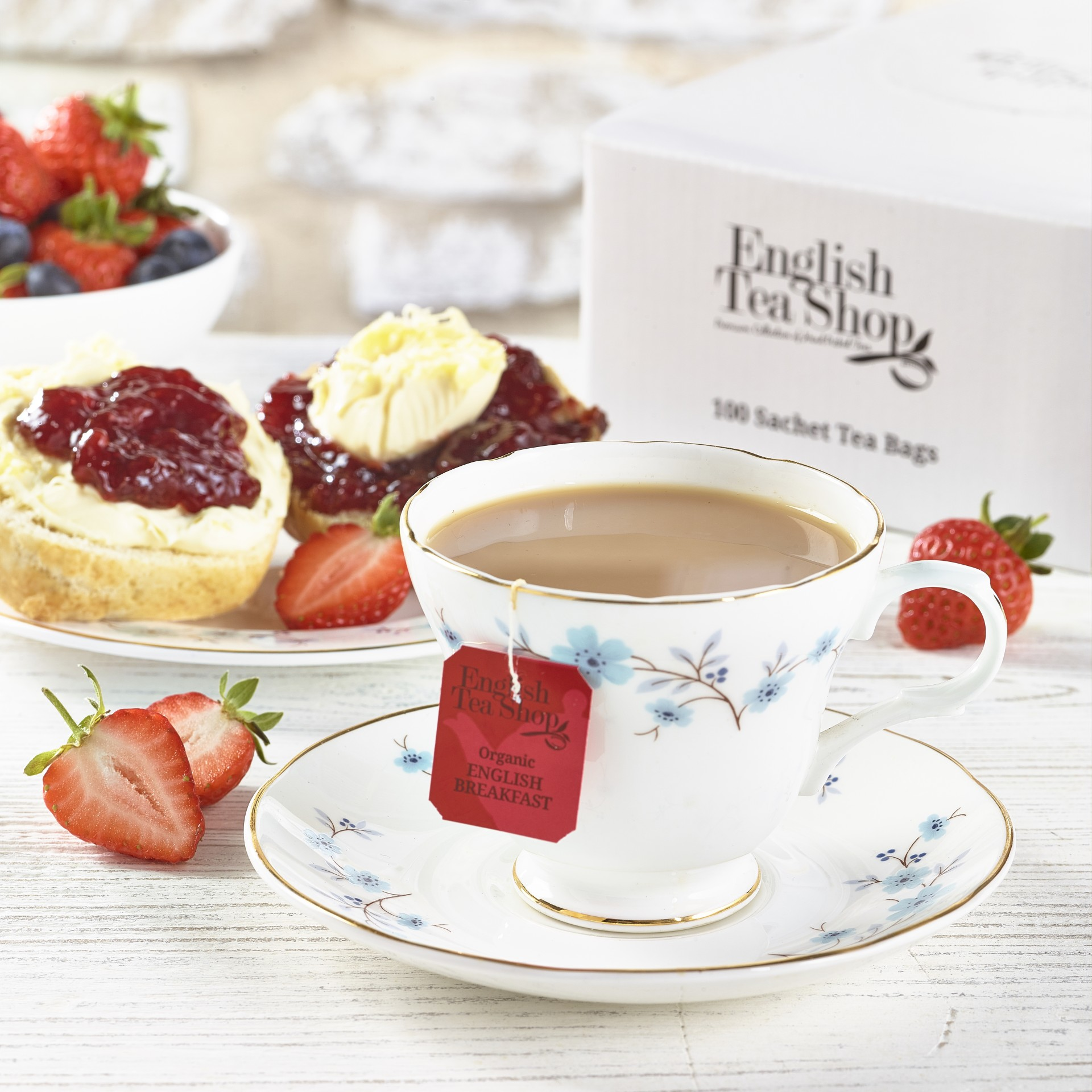 English Tea Shop - English Breakfast Tag & Envelope Tea Bags