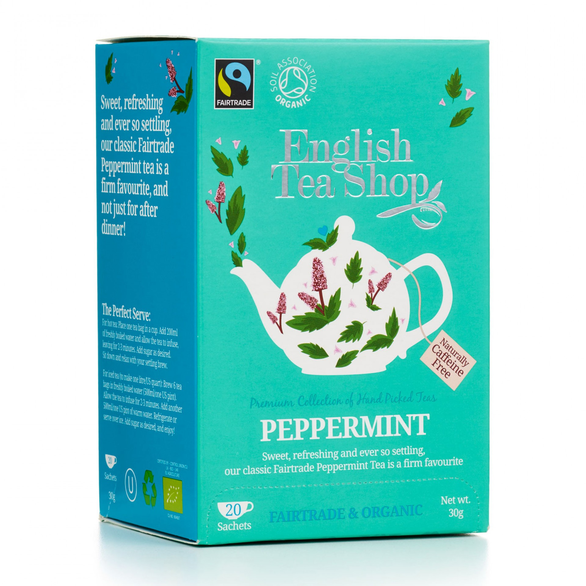 English Tea Shop - Peppermint Tag & Envelope Tea Bags