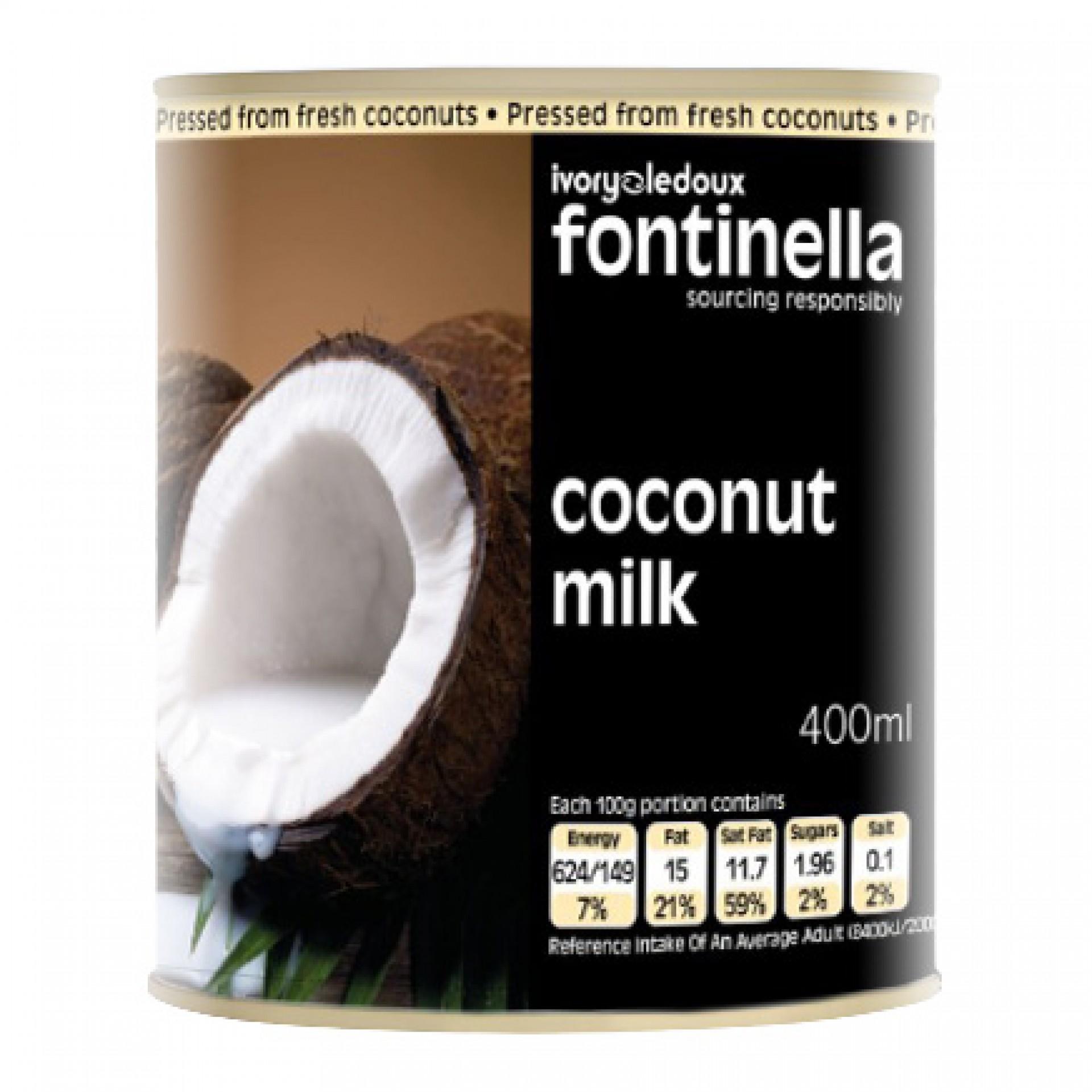 Coconut Milk (15% Fat Content)