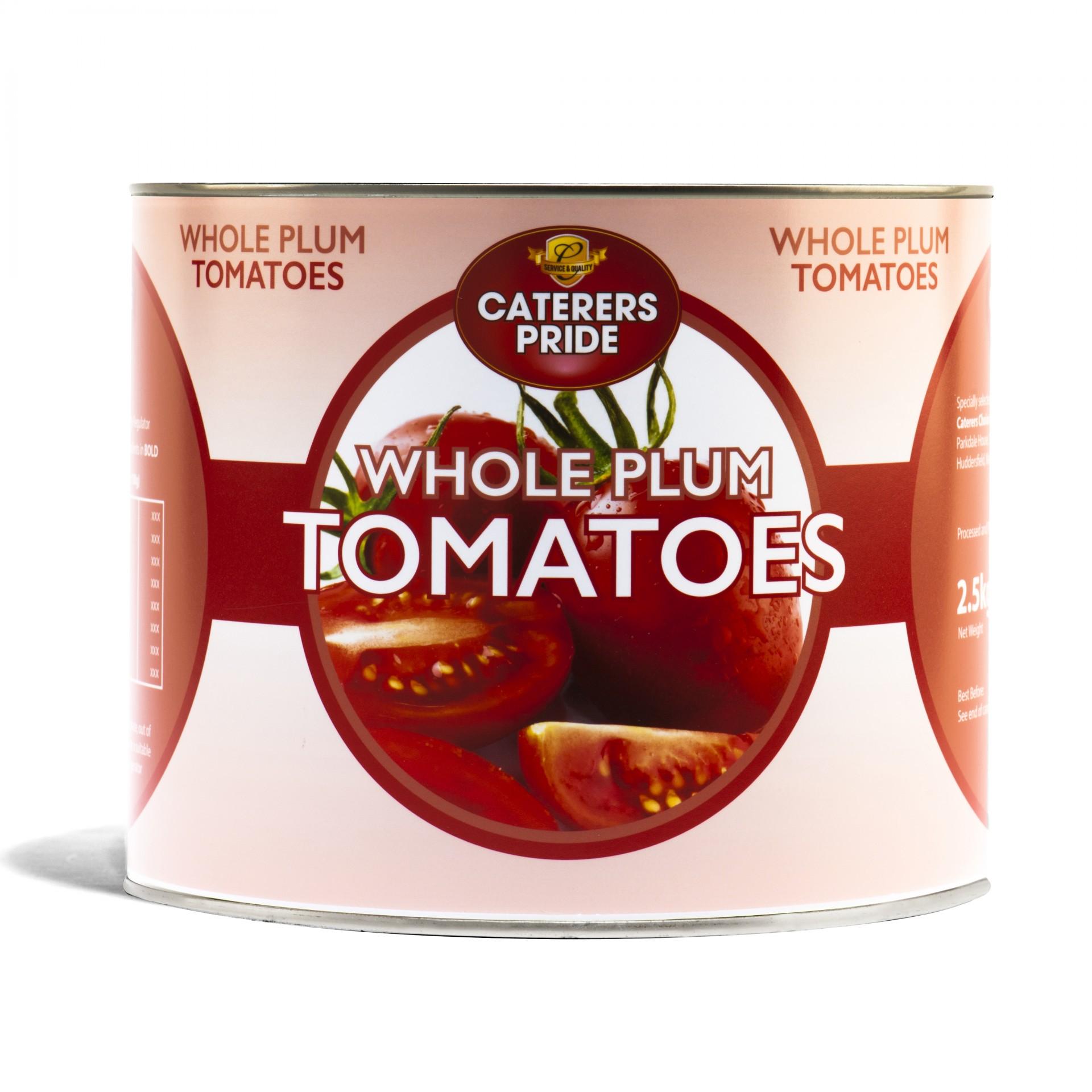 Plum Peeled Tomatoes