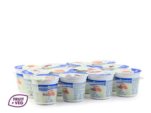 Low Fat Fruit Yogurts Mixed Flavours
