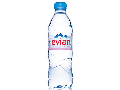 Evian Still Natural Water 24 x 500ml